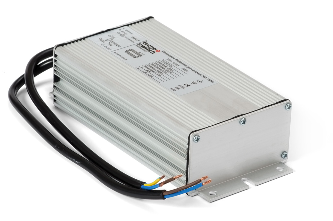 Alimentatore elettronico per lampade a ioduri metallici hi