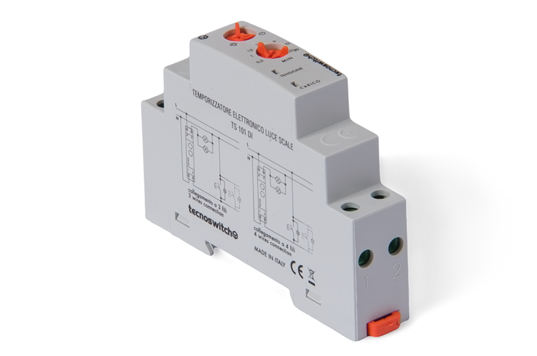 Temporizzatore elettronico luce scale ts 101 di tecnoswitch - Luci per scale ...