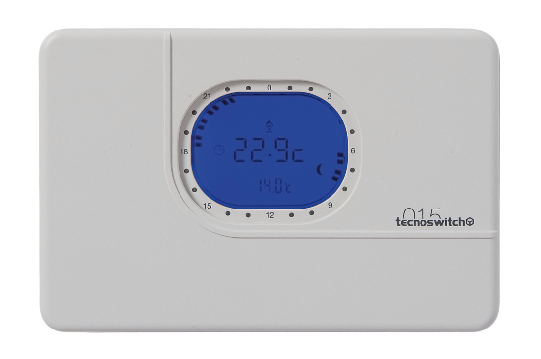 Wall mounting daily weekly digital chronothermostat for Tecnoswitch cronotermostato istruzioni