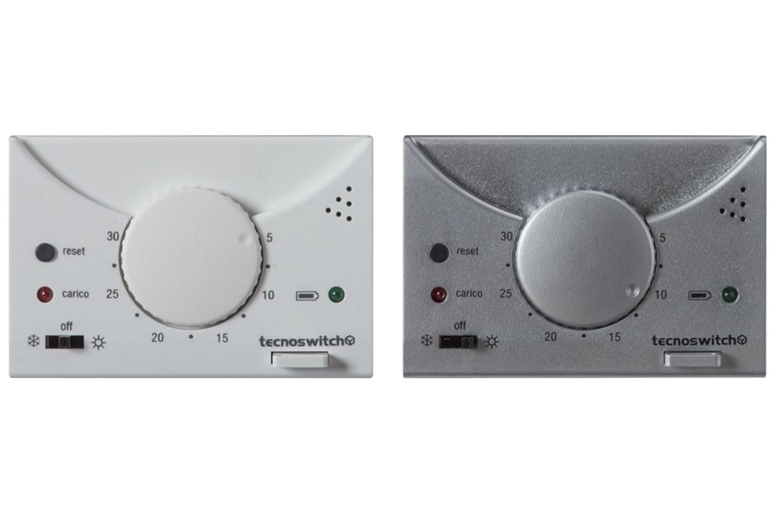 Termostato elettronico da incasso raffaello tecnoswitch for Tecnoswitch cronotermostato istruzioni